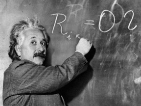 einstein did not have a working memory deficit