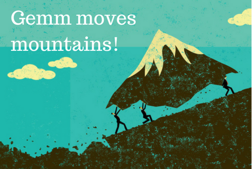 service that moves mountains