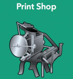 Print Shop FFW Reading Comprehension